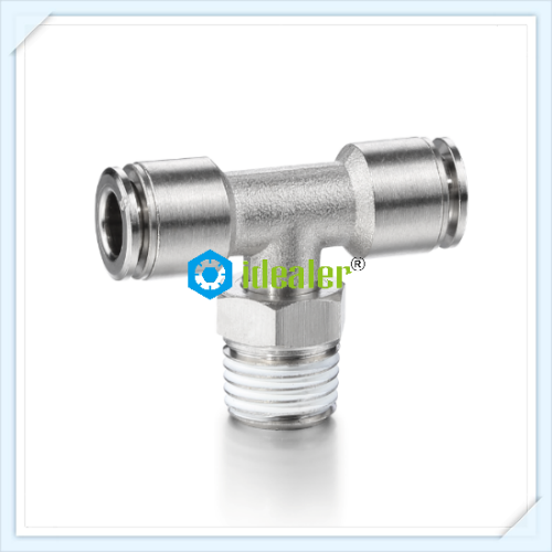 Brass Male Tee Connector-MPT